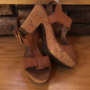 Franco Sarto leather sandals 👡